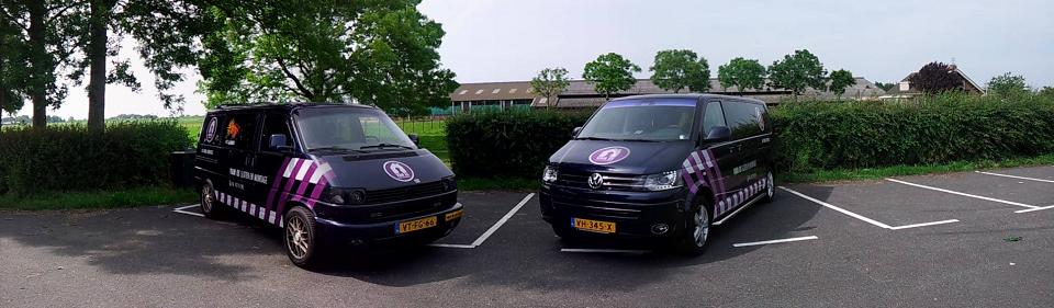 bedrijfswagens slotenmaker Van Es Sloten en Montage